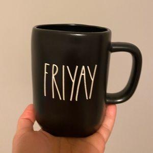 Rae dunn Friyay black